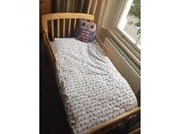 John Lewis Anna Toddler / Junior Bed in Natural