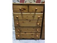 4+2 Drawers chest -wood