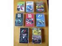 8 VHS Videos 6 F1 and 1 Jeremy Clarkson and 1 Murray Walker 8 in total