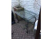 Garden table £50
