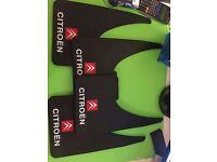new universal citroen mud flaps set of four (not berlingo c1 c2 c4 c5 nemo c3 partner mud guards)