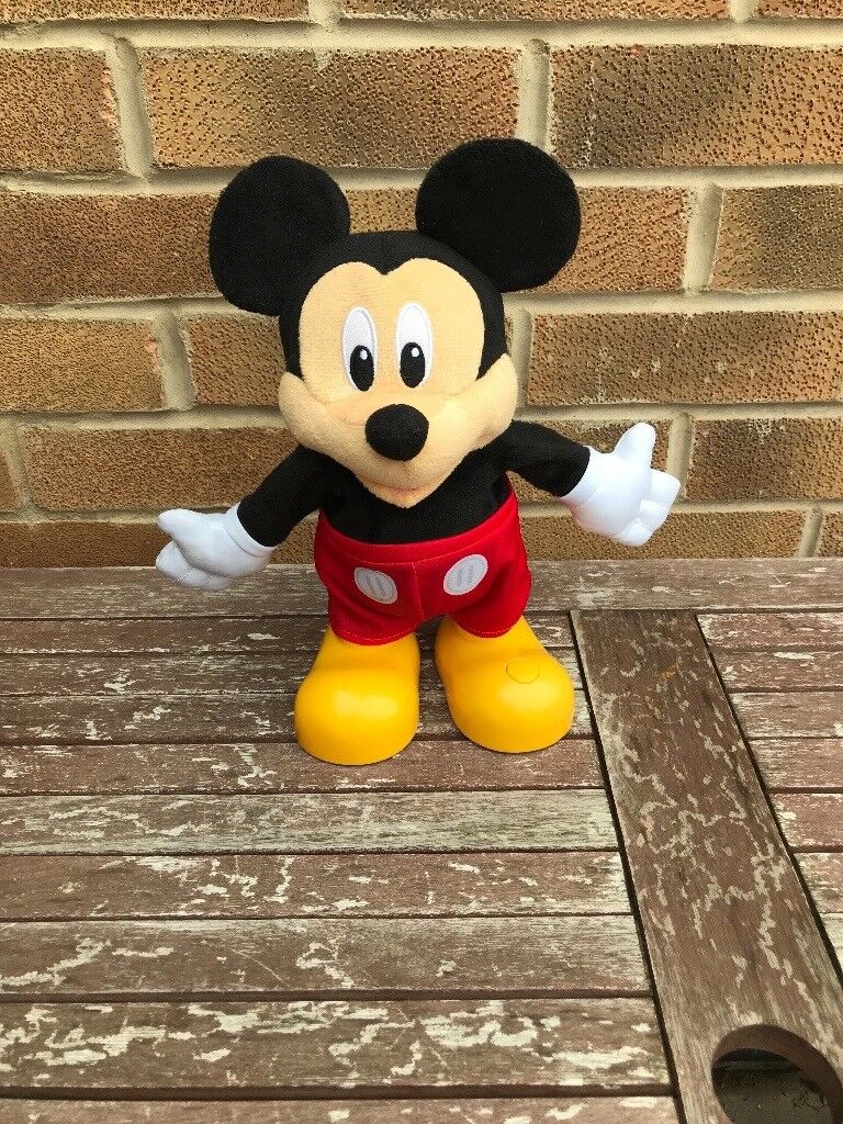 Talking and dancing Mickey Mouse