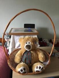 Teddy bear Christmas gift
