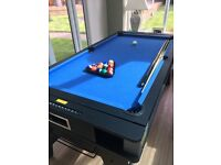 6ft Multi Games Table. Pool, air hockey and Table Tennis. Hardly used
