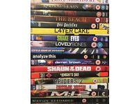 DVDs job lot 1! 50 DVDs for £15.00 Bargain!