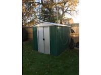 Yard master metal shed