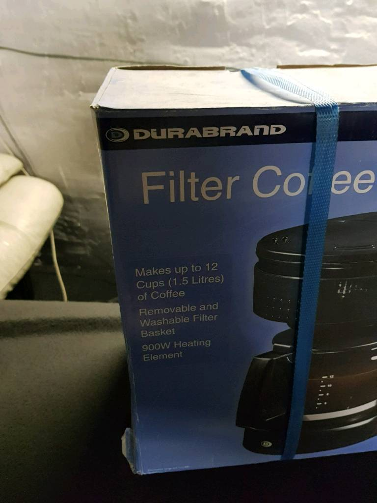 Filter coffee machine brand new