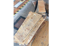 free OSB and sheet material offcuts