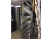 Gridwall display panels + corner shelf & baskets