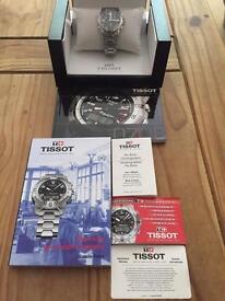Tissot PR100 X Flyback watch.