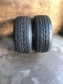 2 x 215 40 17 2154017 Hankook Ventus V12 EVO Tyres