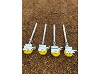 Boss Youngman Scaffold Tower legs/castors set of four
