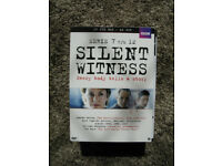 SILENT WITNESS series 7 8 9 10 11 12 BOX DVD (PAL Region 2) - Like New