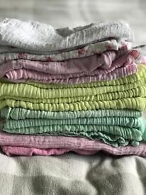 Bundle of muslin cloths