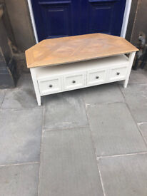 Modern T.V Stand / Cabinet with 4 drawers , in good condition. Free Local Delivery.