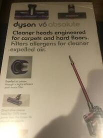 Dyson V6 Absolute ‑ Stick Vacuum ‑ Bagless ‑ Pink, Silver