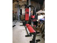Red Pro Power Multi Gym - Weights Multigym