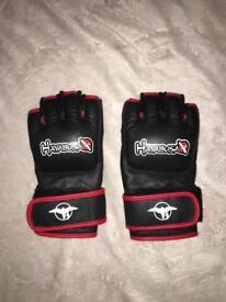 Hayabusa fingerless gloves medium