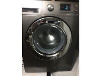 8KG Samsung eco bubble Inverter washer, chrome design ,new model,excellent cond,4 months warranty