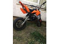 110cc monstermoto pitbike