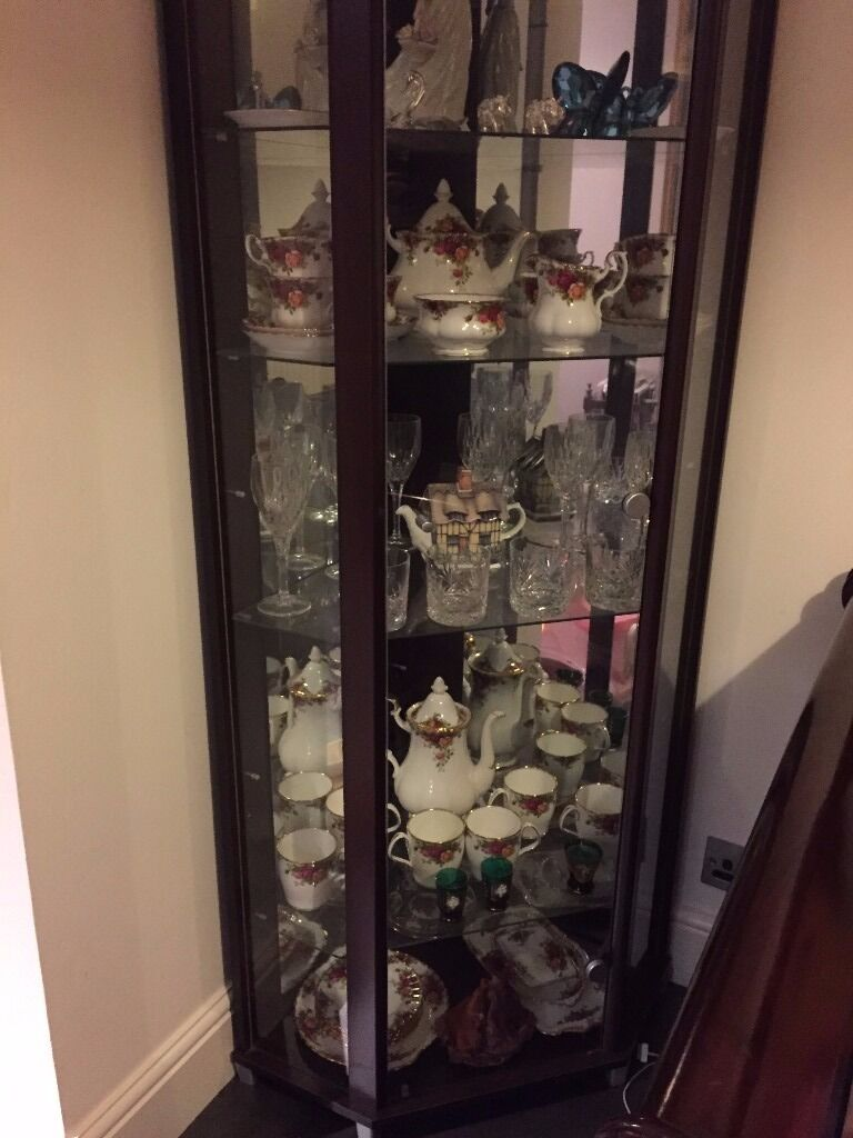 Argos corner glass cabinet for sale   in Wokingham, Berkshire ...