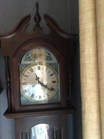 GRANDFATHER CLOCK.NOW SOLD.