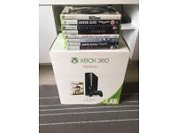 Xbox 360 (500GB) - Wireless Controller & 9 Game Bundle For Sale * Mint Condition*