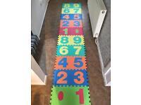 Children's foam play mats