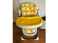 Cosatto noodle supa highchair- Great Condition-selling for £40 RRP £120