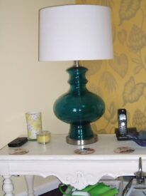 Used 2 x large luxury lamps.