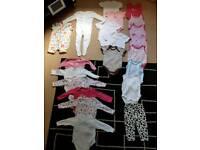 Baby girl bundle 21 items
