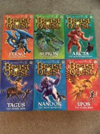 Beast Quest books - all of series 1