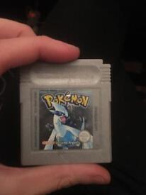 Pokemon silver for Gameboy colour