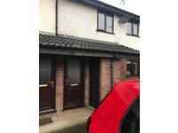 One double bed flat with parking