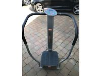 Body fit vibro plate in excellent condition. Compact excersize aid. Power plate