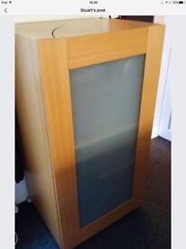 Hideaway computer cupboard