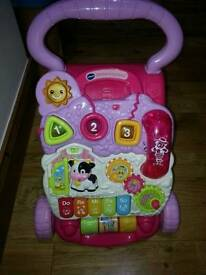 Vetch pink 1st steps activity walker