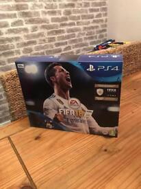 Brand new PS4 slim FIFA 18 edition