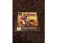 PlayStation 1 spyro 2 boxed black label game