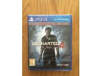 PS4 Game Unchartered 4 (New) unopened