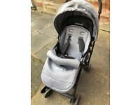 Mee-go feather stroller light 5kg 2 way facing
