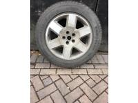 "LAND ROVER DISCOVERY 19"" ALLOY WHEEL & TYRE"