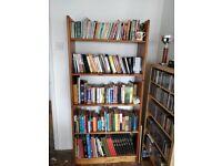 House clearance - bookshelves, wardrobe, shelving, washing machine