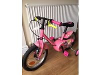 "B Twin 14"" Kids Bicycle - £35"