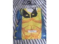 Wolverine fancy dress men's m-l