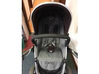 iCandy Peach Travel System Grey/Brown Special Edition
