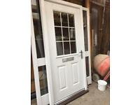 New composite FRONT DOOR +set of keys
