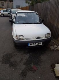 nisan micra new MOT and services