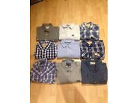 Men's Shirts - Large/XL Mix - Superdry/Hollister/Jack&Jones
