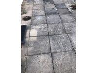 Free 600x600x50 mm concrete slabs